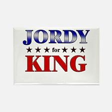 JORDY for king Rectangle Magnet