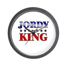 JORDY for king Wall Clock