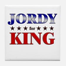 JORDY for king Tile Coaster