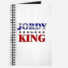 JORDY for king Journal