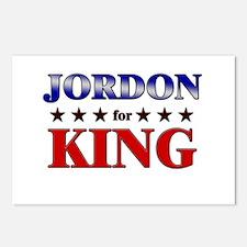 JORDON for king Postcards (Package of 8)