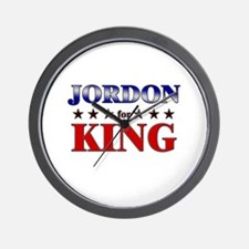 JORDON for king Wall Clock