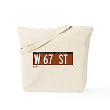 67th Street in NY Tote Bag