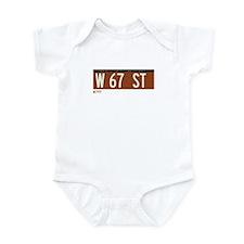 67th Street in NY Infant Bodysuit