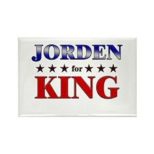 JORDEN for king Rectangle Magnet