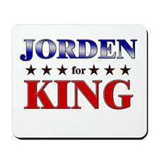 JORDEN for king Mousepad