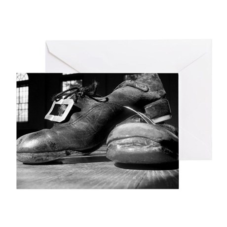 Hard Shoes Greeting Card
