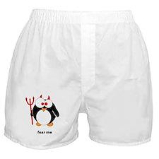 Devil Penguin Boxer Shorts