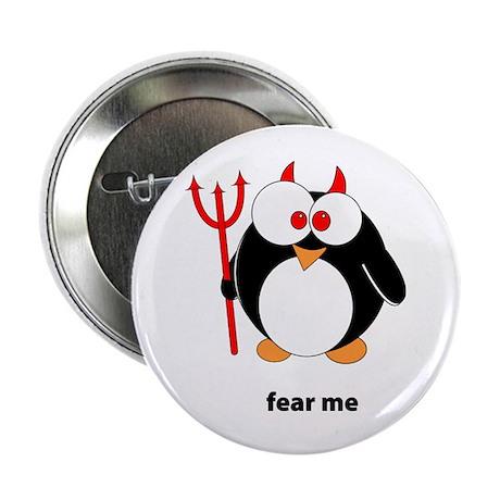 """Devil Penguin 2.25"""" Button"""