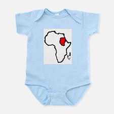 Heart of Africa Infant Bodysuit