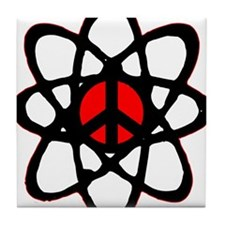 Atomic Peace Tile Coaster