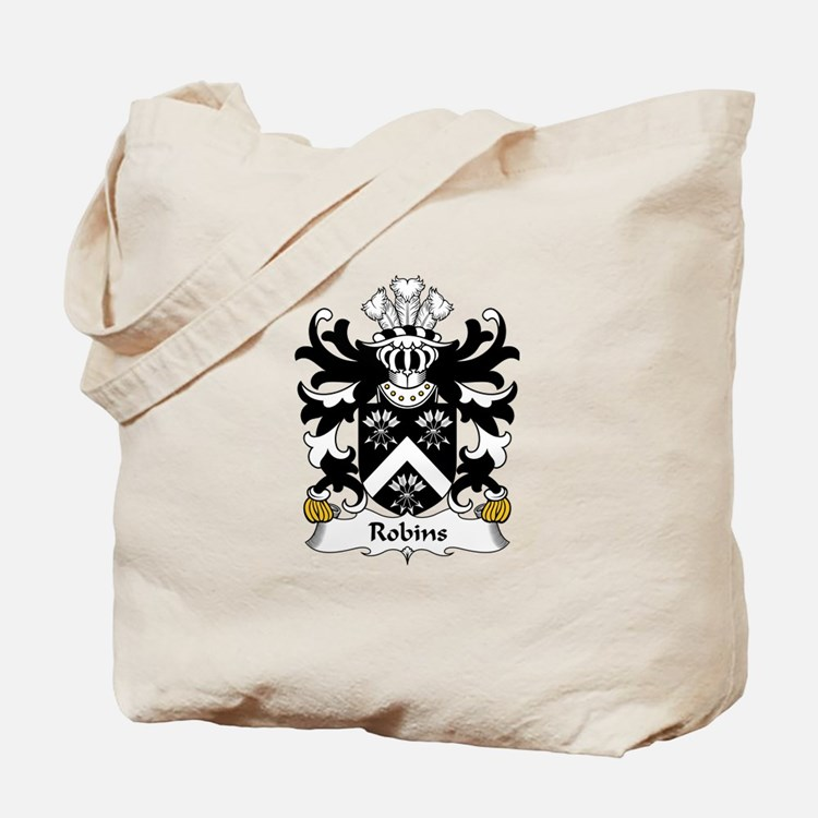 Robins (or Robinson, Bishop of Bangor) Tote Bag