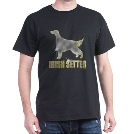 Bling Irish Setter Dark T-Shirt