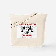 Oilfield Ram Tote Bag
