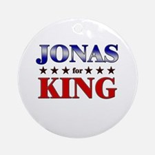 JONAS for king Ornament (Round)
