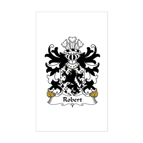 Robert (AP HYWEL, Denbighshire) Sticker (Rectangul