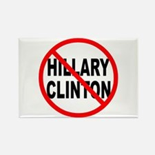Anti Hillary Clinton Rectangle Magnet