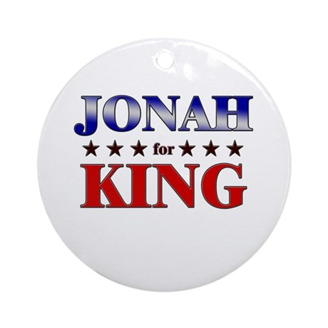 JONAH for king Ornament (Round)