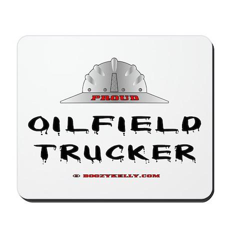 Oilfield Trucker Mousepad