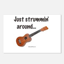 Just strummin' around Postcards (Package of 8)