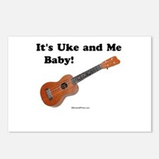 It's Uke and Me Baby Postcards (Package of 8)