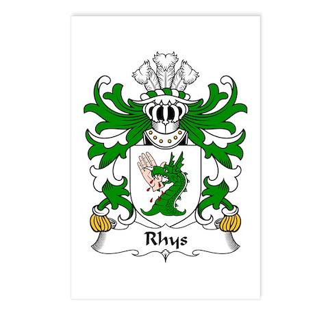 Rhys (GOCH OF YSTRAD YW) Postcards (Package of 8)