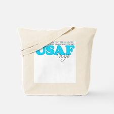 My Duty: USAF Wife Tote Bag