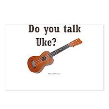 Do you talk Uke? Postcards (Package of 8)