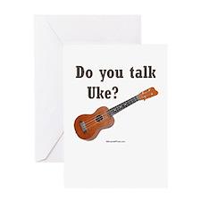 Do you talk Uke? Greeting Card