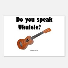 Do you speak Ukulele? Postcards (Package of 8)