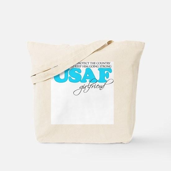 My Duty: USAF Girlfriend Tote Bag