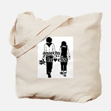 Anarchy is for lovers... Tote Bag