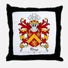 Rhys (AP MAREDUDD AB OWAIN) Throw Pillow