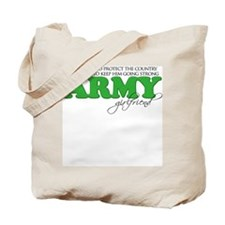 My Duty: Army Girlfriend Tote Bag