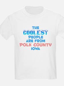 Coolest: Polk County, IA T-Shirt