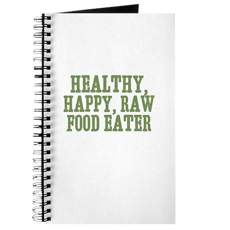 Healthy, Happy, Raw Food Eate Journal