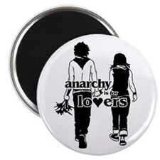 Anarchy is for lovers... Magnet