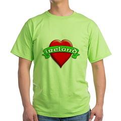 Tattoo Art Love Ireland T-Shirt