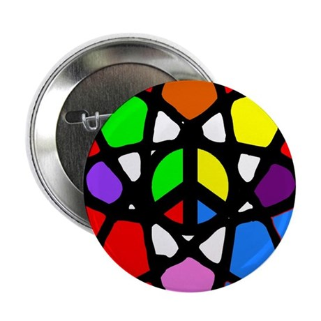 "Atomic Peace 2.25"" Button"