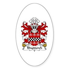 Rhydderch (LE GROS) Oval Decal