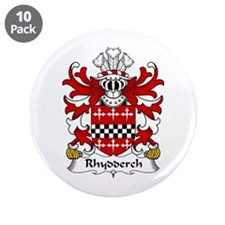"Rhydderch (LE GROS) 3.5"" Button (10 pack)"