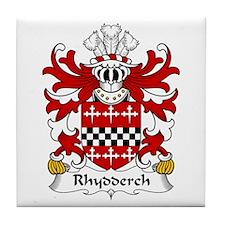 Rhydderch (LE GROS) Tile Coaster
