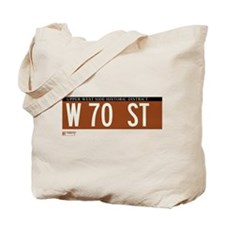 70th Street in NY Tote Bag