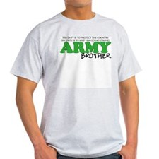 My Duty: Army Brother T-Shirt