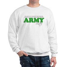 My Duty: Army Sister Sweatshirt