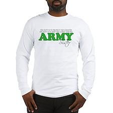 My Duty: Army Sister Long Sleeve T-Shirt