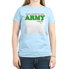 My Duty: Army Sister T-Shirt