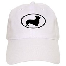 Welsh Corgi Oval Baseball Cap