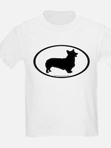 Welsh Corgi Oval T-Shirt