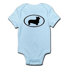Welsh Corgi Oval Onesie